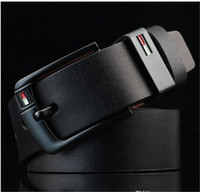 Wholesale pu ceinture for sale - 2018 New Arrival designer Pin Buckle PU leather belts for men Luxury Brand pu leather Mens Belt male ceinture LH P76