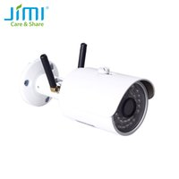 Wholesale outdoor wi fi security cameras for sale - Group buy Jimi JH012 Outdoor G Wi Fi IP Mini Network Bullet Wireless Network Camera Surveillance P Night Vision CCTV Security Camera