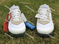 Wholesale blue zip up - Wholesale Top 2018 VaporMax 2.0 Blue Lace Running Shoes Black White Men Women Mesh Breathable FK Low AA3831 Sneaker With Zip Tie