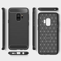 Wholesale Ultimate Iphone Case - Rugged Armor Hybrid Carbon Fiber Shockproof Soft TPU Ultimate Anti Shock Cover Case Skin For iPhone X 8 7 Plus 6S 5S Samsung Galaxy S9 S8