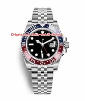 Wholesale luxury watches gmt - 8 Style Topselling 2018 Basel World 40mm GMT 116719BLRO 116719 126710 116710 126715CHNR Asia 2813 Movement Automatic Mens Watch Watches