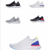 Wholesale instant body - Epic React shoes Womens Mens Running Shoes Instant Go Fly Breath Comfortable Sport Boost Size 5.5-11 For Sale Men Women Athletic Sneakers