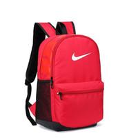 erkek çantaları markaları toptan satış-Toptan Varış Tasarımcı Sırt Çantası Marka Sırt Çantası Casaul Okul Çantası Moda Gelgit Erkek Öğrenci Sırt Çantası Unisex Açık Spor Çantaları