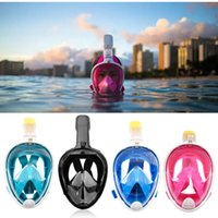 Wholesale spearfishing equipment for sale - Group buy Full Face Diving Mask Anti fog Snorkeling Mask Underwater Scuba Spearfishing Children Adult Glasses Training Dive Equipment