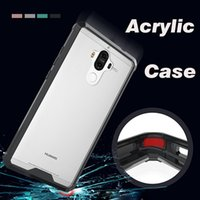 Wholesale armour hybrid shockproof case online – custom Air Hybrid Acrylic Armour Shockproof Crystal TPU Transparent Protection Clear Cover Case Skin For Huawei P20 Pro P10 Plus P9 Lite Mate