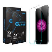 protector de pantalla de gafas templadas paquete de venta al por menor al por mayor-Para J7 2018 J3, consiga el protector de pantalla para LG Stylus 4 K20 Plus de Tempered Glass 9H 2.5D de Moto G6 Play E5 Play con paquete minorista