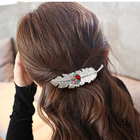 Wholesale Hair Board - Hot Sale Flower Snap Button Knitted Hat 18MM Charms Fashion Jewelry For Women Girl Teenagers Display board Hair clip gift