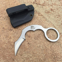 Wholesale karambit knives d2 for sale - THE ONE EDC karambit D2 claw Camping Survival Folding Knife Xmas Gift Knife for man freeshipping