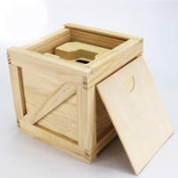 caixa grande cadeia venda por atacado-Caixa de relógio grande de madeira real puro australiano caixa de relógios de inteligência eletrônica de mergulho, cadeia de cadeia de mão receber uma caixa