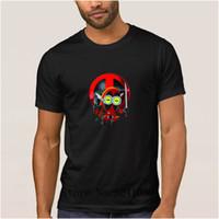 fit minion großhandel-La Maxpa Customized Casual Deadpool Minion Cartoon grundlegende T-Shirt 2017 Fit Herren T-Shirt Unique Tshirt O Hals HipHop