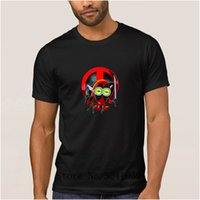 seqüestro de ajuste venda por atacado-La Maxpa Personalizado Casual Deadpool Minion dos desenhos animados básicos camiseta 2017 Fit mens t-shirt Única camiseta O Pescoço HipHop