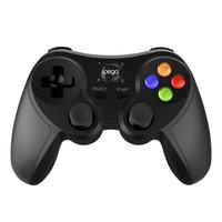 controlador de juego titular al por mayor-iPega PG-9078 Controlador de juegos inalámbrico Bluetooth Joystick Gamepad Controlador de juegos para Android / iOS Tablet PC Ps Dualshock 4 Smart Game Pad