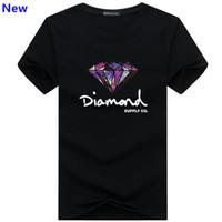 ingrosso abbigliamento diamante-Moda t shirt diamante uomo donna Abbigliamento 2018 Casual tshirt manica corta da uomo T-shirt da uomo di design del marchio J06