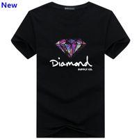 diamant t-shirt frauen großhandel-Mode t-shirt diamant männer frauen Kleidung 2018 Casual kurzarm t-shirt männer Marke designer Sommer t-shirts J06