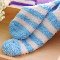 Wholesale womens warm socks resale online - Spandex pairs Winter Warm Socks For Womens High Quality Towel Warm Fuzzy Socks Candy Color Thick Floor Thermal Socks Cotton