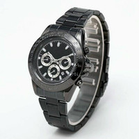 Wholesale panel stainless steel - Noble men watch case with A-level polished technology panel stripes clear luxury watch excellent performance automatic movement watch watc
