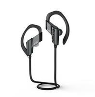 Wholesale Stero Wireless Earphones - AAA quality s501 ear-hook v4.2 wireless bluetooth in-ear in ear stero sport earphone Lightweight handfree headphone with mic for iphone x