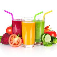 cepillo de silicona para alimentos al por mayor-Pajas de beber de 25 cm de curva recta Paja de beber de gel de silicona de grado alimenticio Pajas de beber y cepillo de limpieza reutilizables