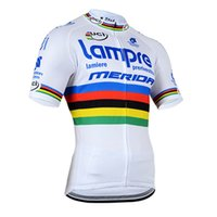 Wholesale lampre team clothes for sale - LAMPRE team Breathable Cycling Jersey Short Sleeve Summer Spring Men s Shirt Bicycle Wear Racing Tops Cycling Clothing c1412