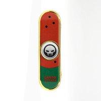 ingrosso skateboard di mano-Woodfone Hand Spinner Skateboard Lega Stent Scrub Stands in lega di metallo Chrome acciaio Scrub Finger Skate Toy ROSSO