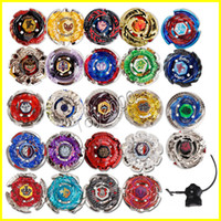 Wholesale old type toys online - 24 Type Beyblade Booster Alter Spinning Gyro Launcher fidget spinner Starter String Booster Battling Top Beyblades Beyblade Toys for Kids