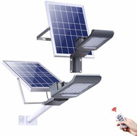 Wholesale path lighting for sale - 20W W W W Outdoor Garden Park Road Path Waterproof Solar Power LED Street Light Lamp With Remote