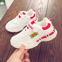best baby girl shoes NZ - Baby Shoes Kids Shoes Girls and Boys Little Sports shoes student sports shoe Spring Autumn boys net shoe Size 26-37 Best Selling 202