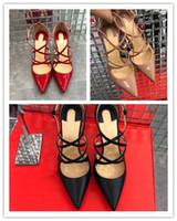 zapatos de fiesta de boda al por mayor-Al por mayor-Moda Simple novia personalizada zapatos de tacón alto fiesta de baile fondo rojo bombas 2018 sexy Negro Desnuda boda roja Zapatos solos Superficial 10 cm