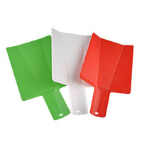 Wholesale Kitchen Chopping Blocks - Plastic Foldable Chopping Blocks Household With Non Slip Handle Cutting Board Fruit Meat Vegetable Kitchen Cooking Tools Practical 3 9hh B