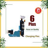 gato 5,5 al por mayor-Cargador de carga Puerto de datos Puerto Dock USB Cable flexible para Apple iPhone 6 Plus 5.5 pulgadas Auriculares Jack de audio Micrófono Flex Cable