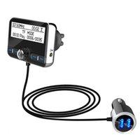 yayın vericisi toptan satış-DAB002 DAB Dijital Radyo Alıcısı FM Tuner Radyo Araba Bluetooth 4.2 Verici Adaptörü FM DAV / DAB Tuner Broadcasting