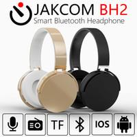 samsung cell support großhandel-JAKCOM BH2 Drahtloser Bluetooth 4.1 Kopfhörer drahtloser Kopfhörer mit Mic FM Unterstützungs-TF-Karte für Iphone Samsung Xiaomi Handys