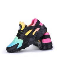 Wholesale ocean kids - 2019 air Huarache Running Shoes Men and Women Big Kids Black White High Quality Sneakers Huaraches Jogging Sports Shoes Athletic Shoes