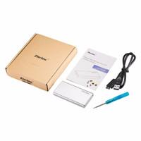 msata ssd drive toptan satış-Zheino P3 USB3.0 Taşınabilir Harici 32 GB SSD Alüminyum Kasa Süper Hız mSATA ile Hlaf mSATA ve SSD için Katı Hal Sürücü