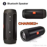 top drahtlos großhandel-Top Sounds Qualität CHarge2 + Wireless Bluetooth Mini-Lautsprecher Im Freien wasserdichte Bluetooth-Lautsprecher kann als Power Bank verwendet werden
