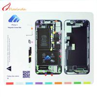 Wholesale mat memory - Magnetic Screw Mat Memory Board Work Guide Pad for iphone X 5 4 4s 8 8 plus 7 Professional Plate Repair Tools for iphone 8plus Memory Boards
