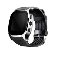 новые умные часы оптовых-CARPRIE Smart Watches New T8 BT3.0 Smart Watch Support SIM and TFcard Camera For Android For  td0705 Dropship