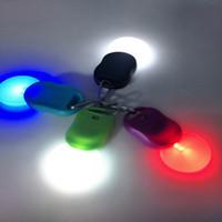 fermuarlı ledli ışık toptan satış-Açık sürme spor fermuar ışık led ışık Anahtarlık ışıkları led gece çalışan güvenlik uyarı lambası