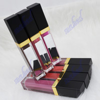 no logo 41color liquid gloss Hot Sale Easy Pigmented Private Label Makeup Matte Mirror tube Lipgloss print your logo