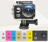 reisen digitalkameras großhandel-Sport-DV-Kamera-Außenfahrt-Reise-Luft-Skaten Skaten Mini HD 1080P Digitalkamera-Linie Videorecorder
