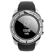 luxus-schrittzähler großhandel-Silikon-Band-intelligente Uhr-Mann-Pedometer-Anzeigen-Anzeige-Sport-Eignungs-Armband im Freien wasserdichtes intelligentes Armband Luxus