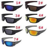 Wholesale sports sunglasses logo resale online - summer man sport style Only glasses colors sunglasses NICE FACE Take the sunglasses Dazzle colour glasses NO LOGO
