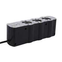 kostenlos usb leichter groihandel-Gleichstrom-Aufladeeinheits-Adapter-Einfaßung mit USB-Einfaßungs-Auto-Zigarettenanzünder-Einfaßungs-Teiler Freies Verschiffen