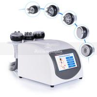 equipo de eliminación de celulitis al por mayor-Equipo de la belleza de la pérdida de peso del vacío de la máquina de la cavitación 5in1 ultrasónica bipolar de la cavitación de radio frecuencia