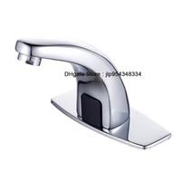 Wholesale Automatic Mixer Faucet - Automatic Sensor Faucet auto tap sensor mixer automatic sanitary commercial faucet public faucet