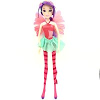 Wholesale beautiful toys for girls for sale - Colorful girl Winx Club Doll Beautiful girl Action Figures Winx Dolls with Exquisite Wing Classic Toys For Girls Christmas Gift