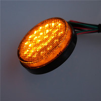 Wholesale taillight daily running light turning light for electric scooter motorcycle tricycle folding bike MTB led lamp reflector parts