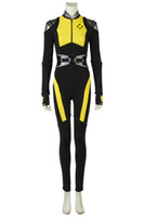 Wholesale female deadpool costume for sale - 2018 New DEADPOOL Negasonic Cosplay Costume shirt lady Halloween full suit