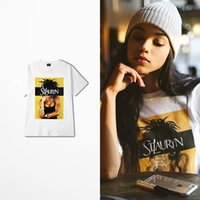 Wholesale Men Girl Beautiful - 2018 Summer New Fashion T-shirt Man Beautiful Girl Print 100% Cotton O-neck Top Tee Skateboard Fashion Camiseta Masculina Tee