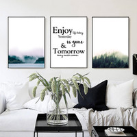 Wholesale Interior Wall Paintings Pictures - 3 paintings Nordic simple home decoration painting fashion murals wall art interior painting